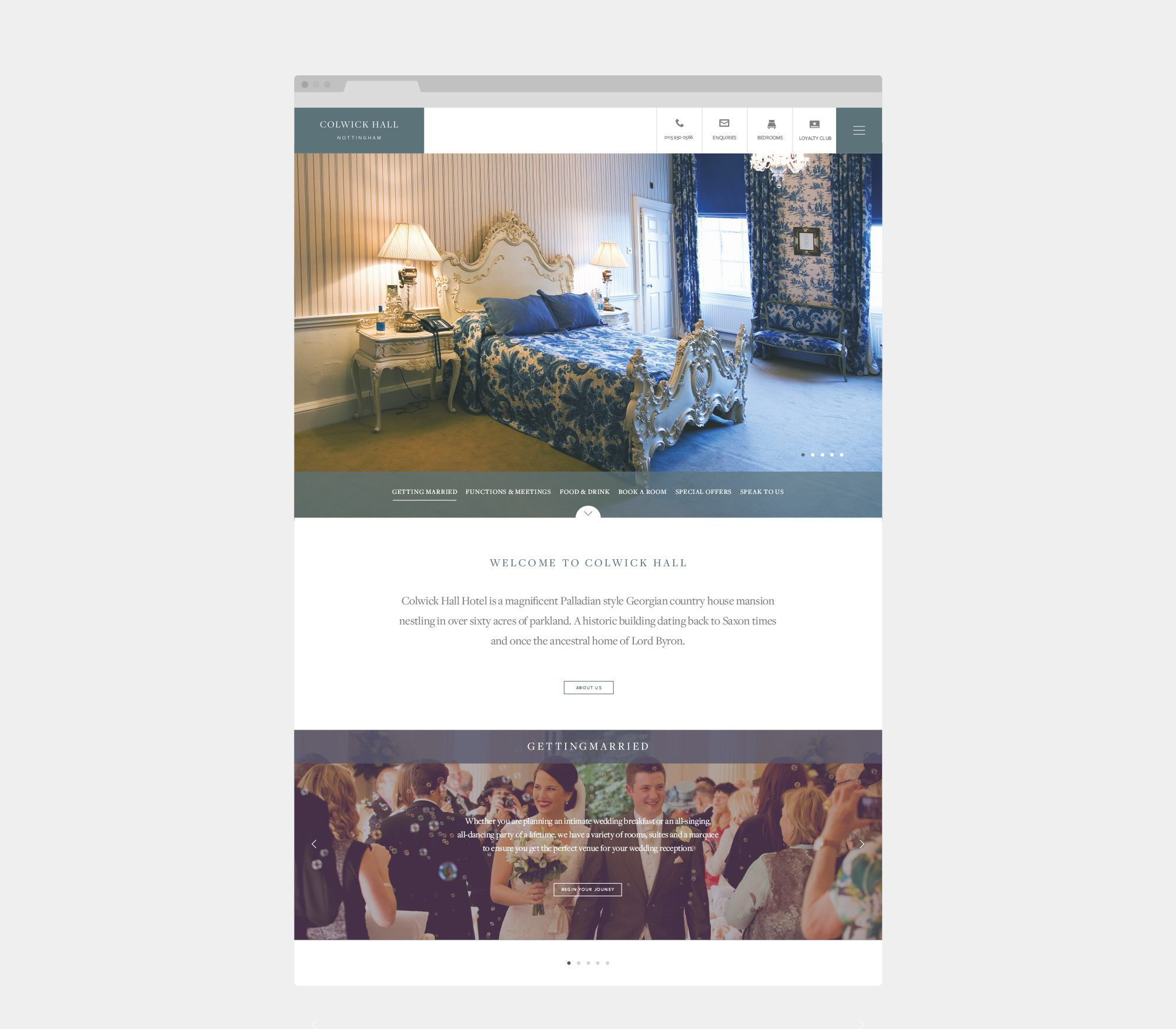 Fuse Design Ltd - Hotel Website Design