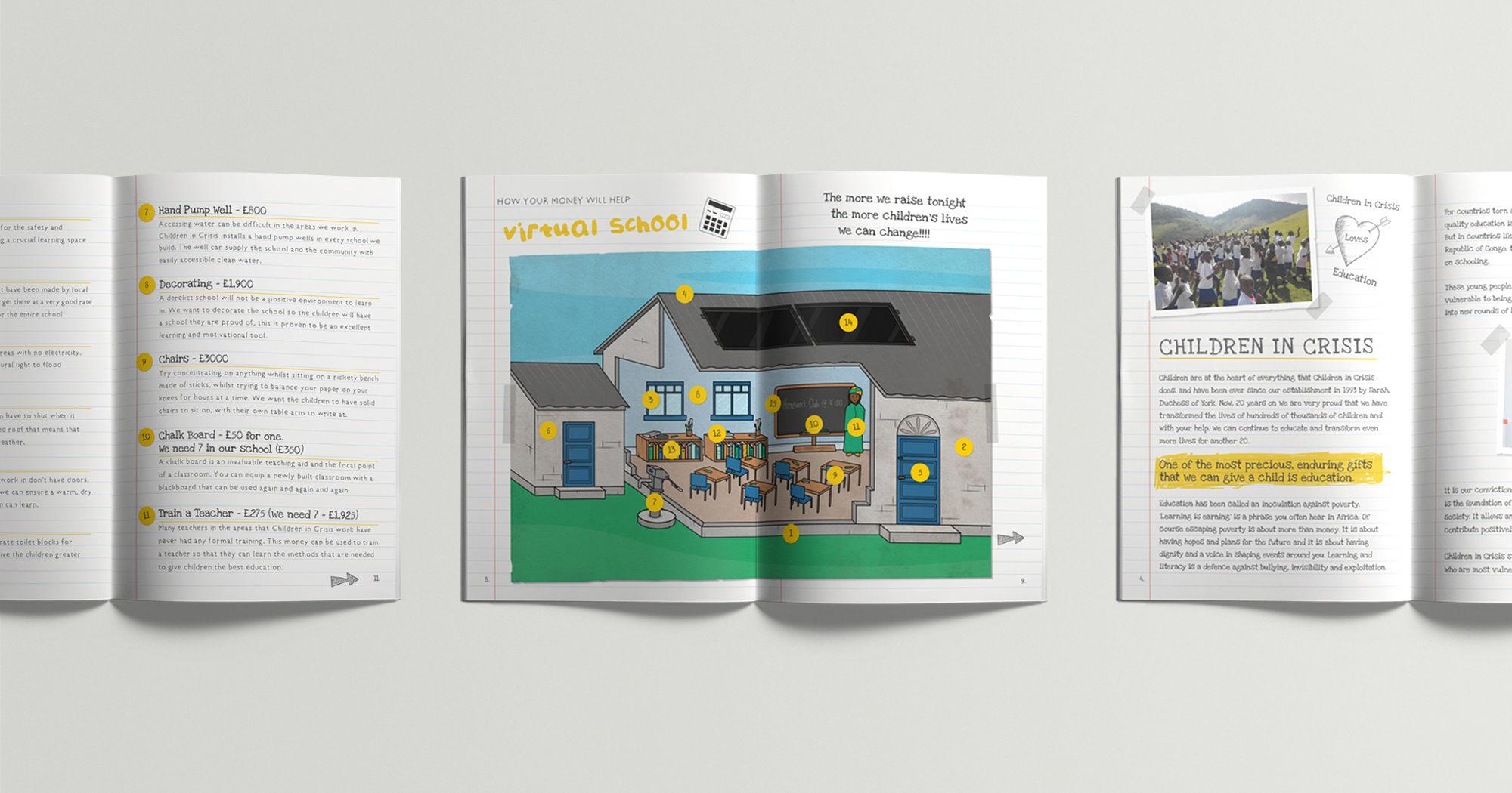 Fuse Design Ltd - Charity Programme Design London