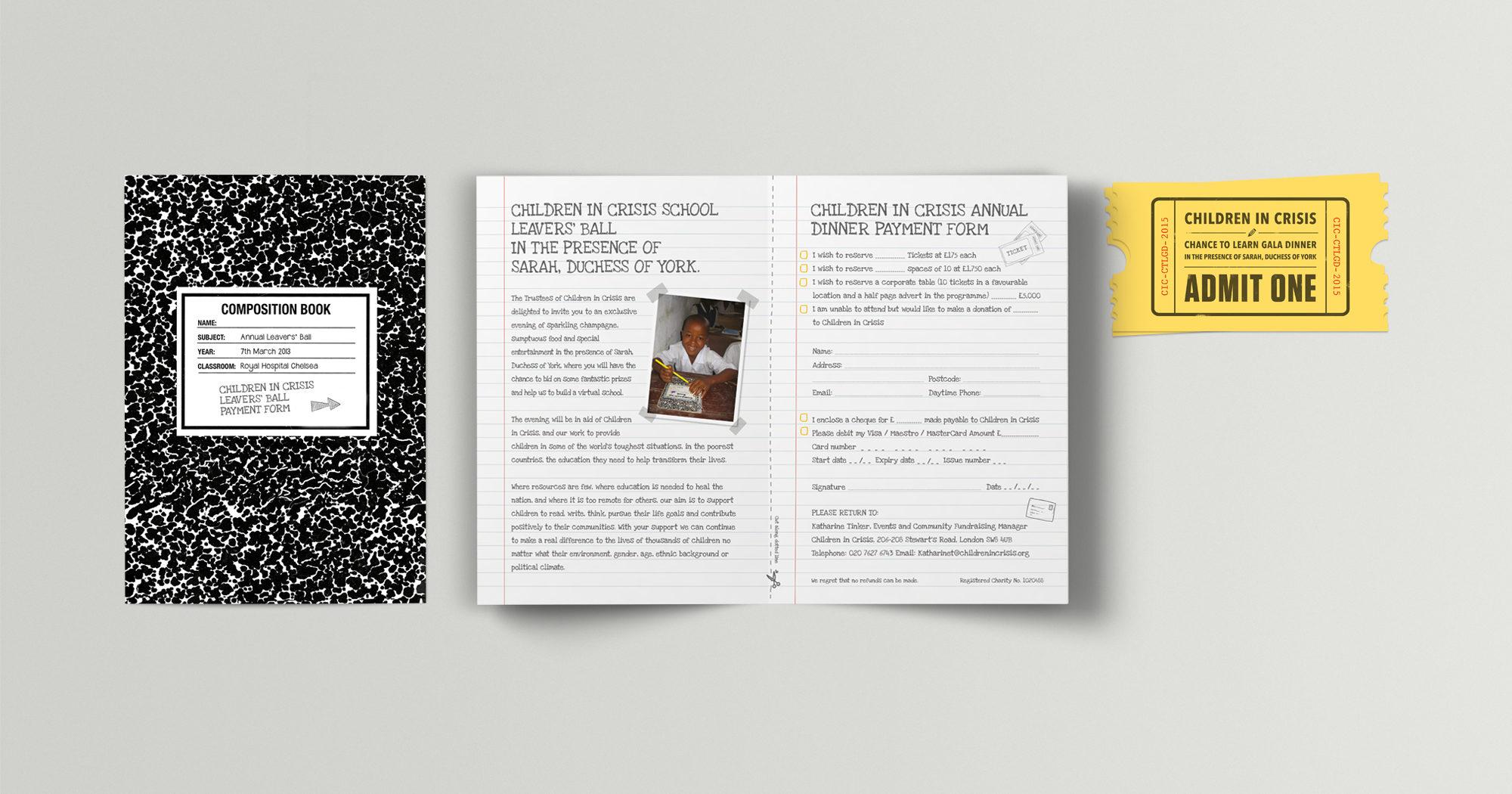 Fuse Design Ltd - Charity Event Graphic Design