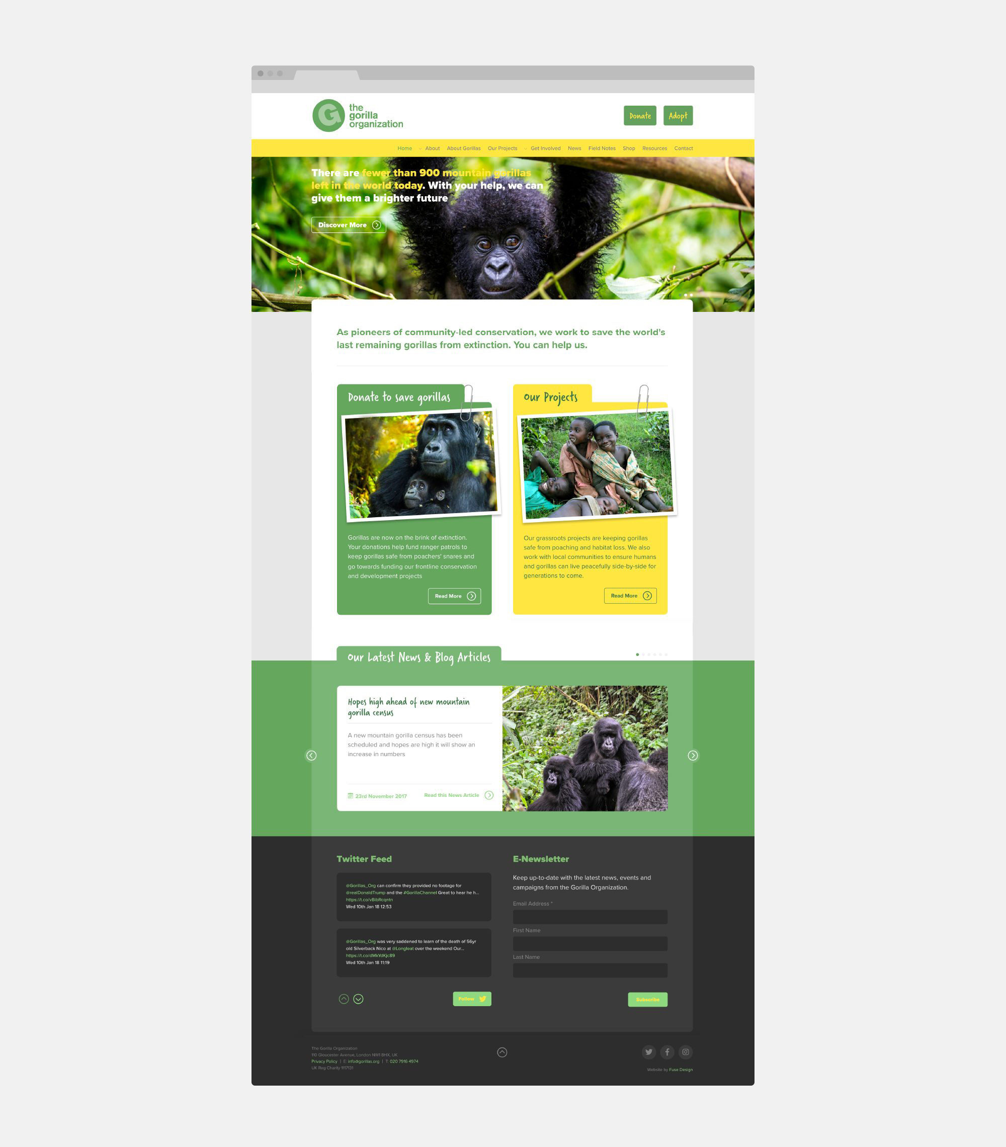 Fuse Design Ltd - Charity website design London