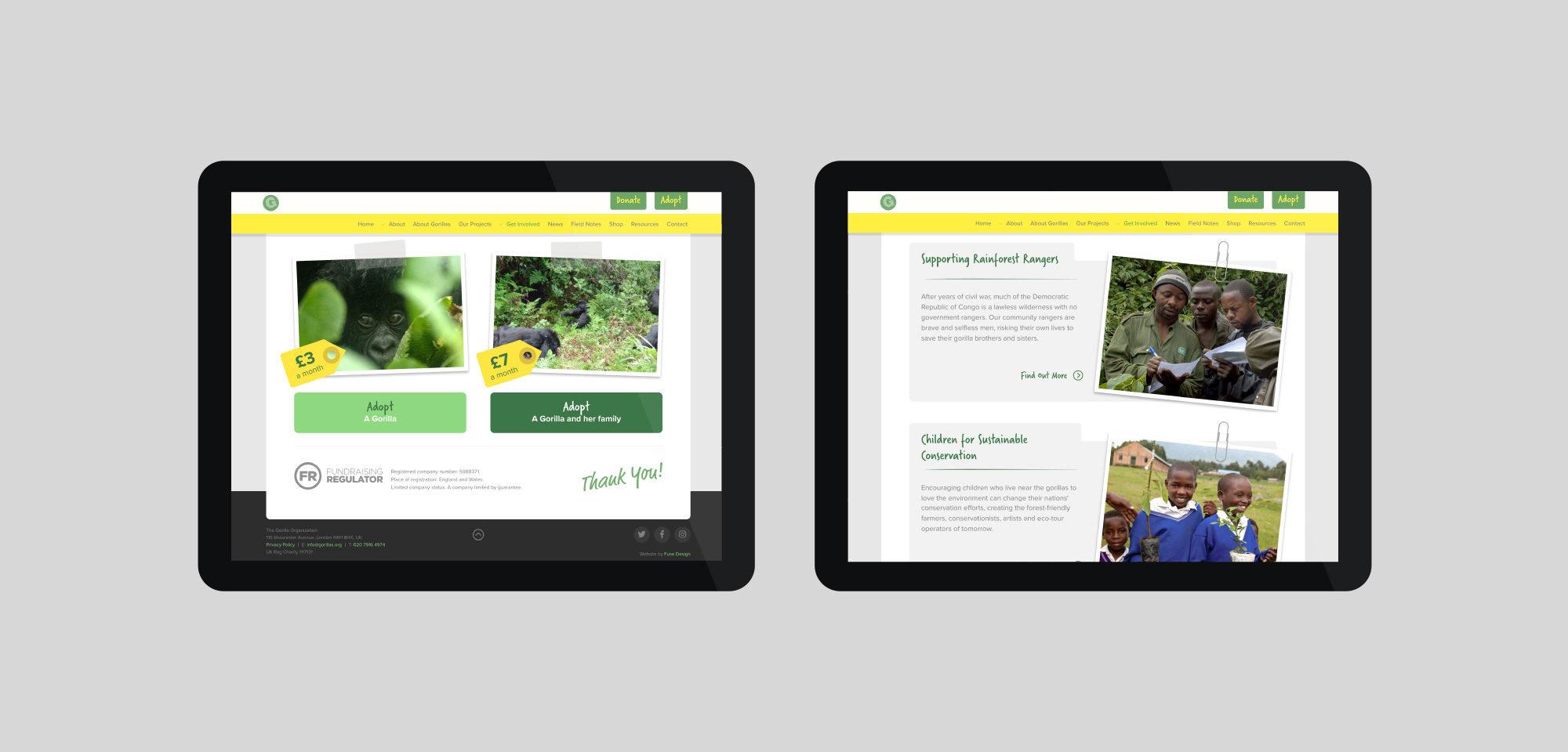 Fuse Design Ltd - Charity website design London