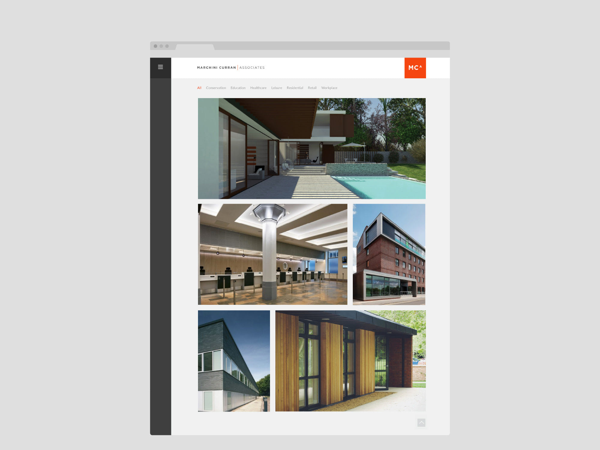 Fuse Design Ltd - Architect Website Design Nottingham