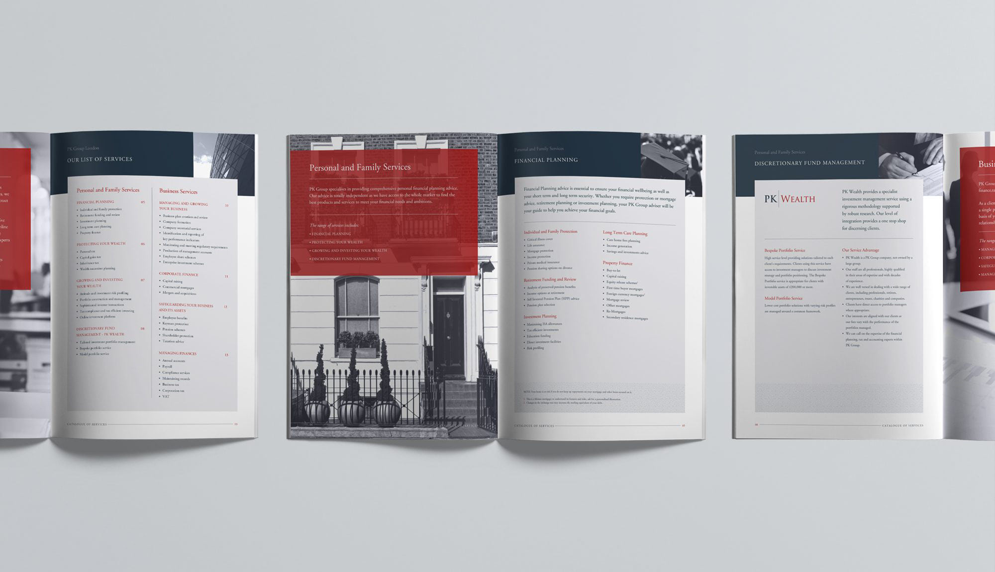 Fuse Design Ltd - Financial Advisers Company Brochure Design